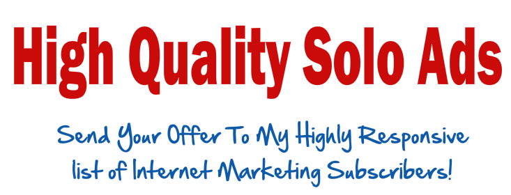 Internet marketing solo ads